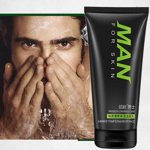 Man oil-control face cleaner pore cleaner