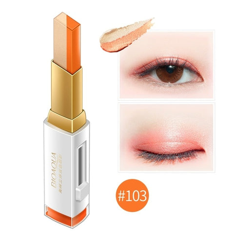 Natural Long Lasting 2 IN 1 box EyeShadow Makeup