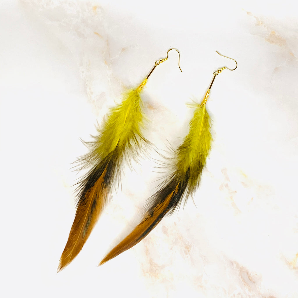 """Free As A Feather"" Earrings"