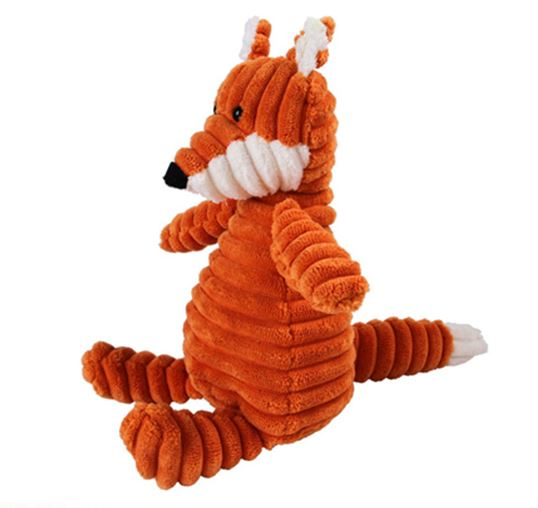 Mr Fox - Plush dog toy