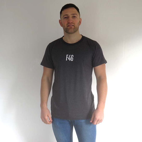 F46 dark grey t-shirt - Part of our 2 for £35 offer