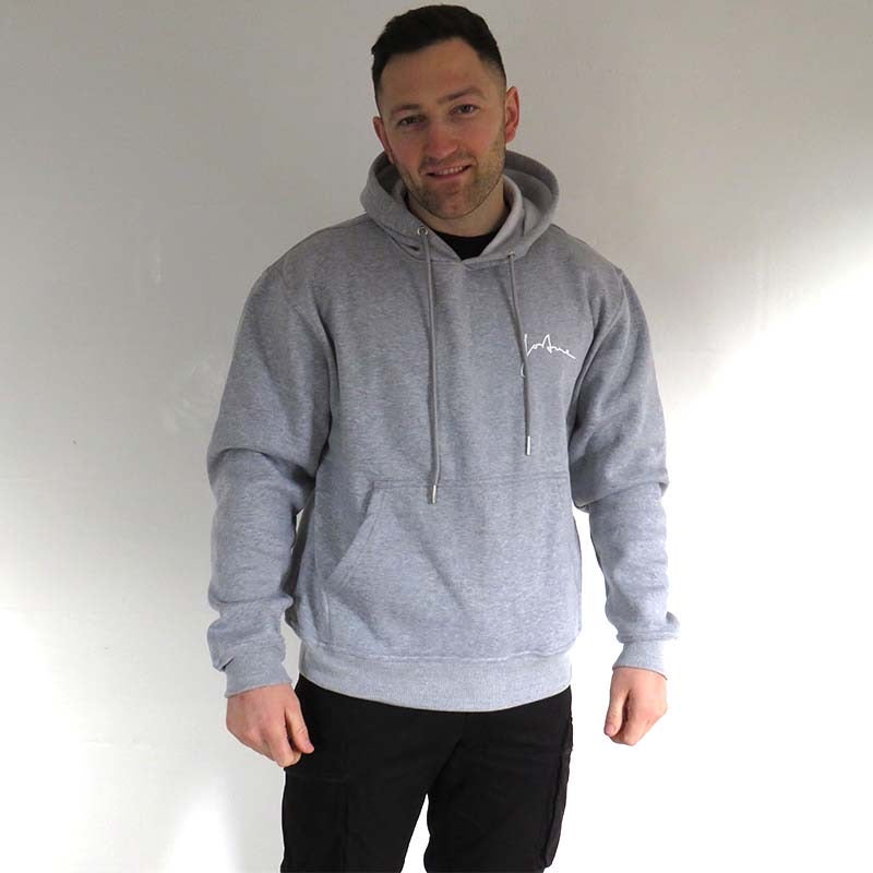 Relaxed 46 Hoodie - Light Grey - Unisex
