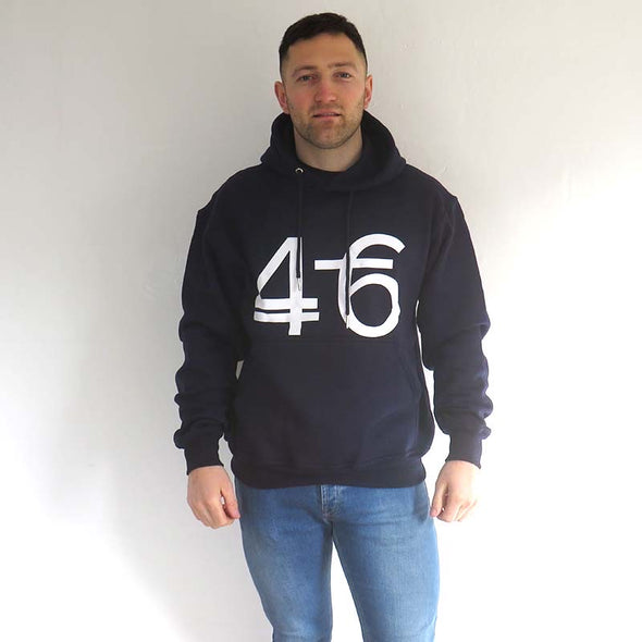 Number 46 navy blue hoodie - Part of our 2 for £60 offer