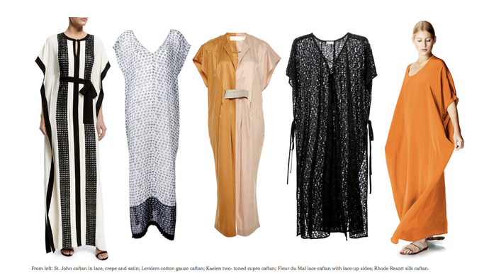 NYTimes Fashion: How to Beat the Heat and Stay Chic