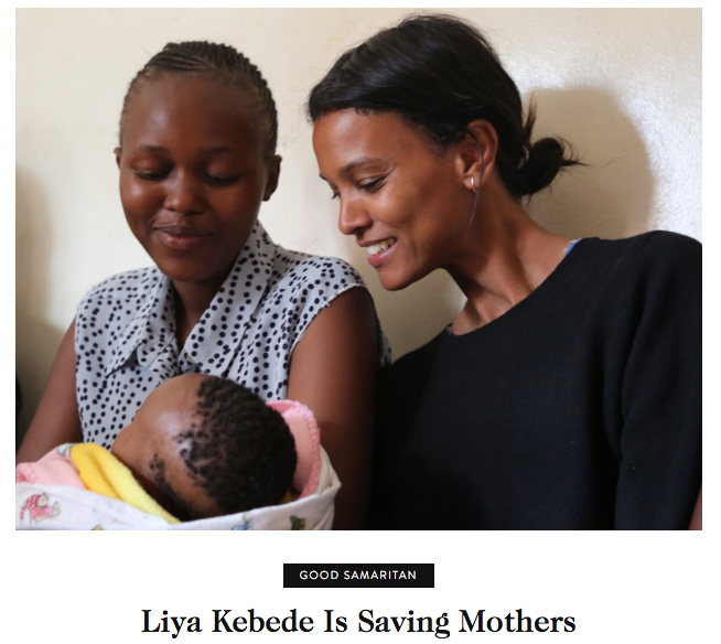 Liya Kebede is Saving Mothers - Goop