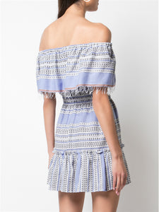 Amira Off Shoulder Dress