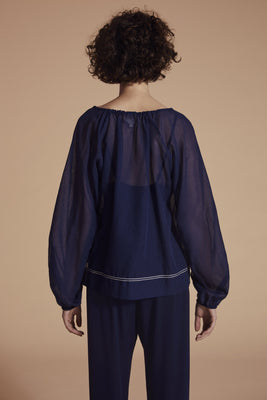 The Essential Blouse - Navy