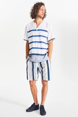 Vertical Stripe Shorts