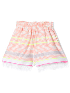 Hayat Girls Shorts - Pink