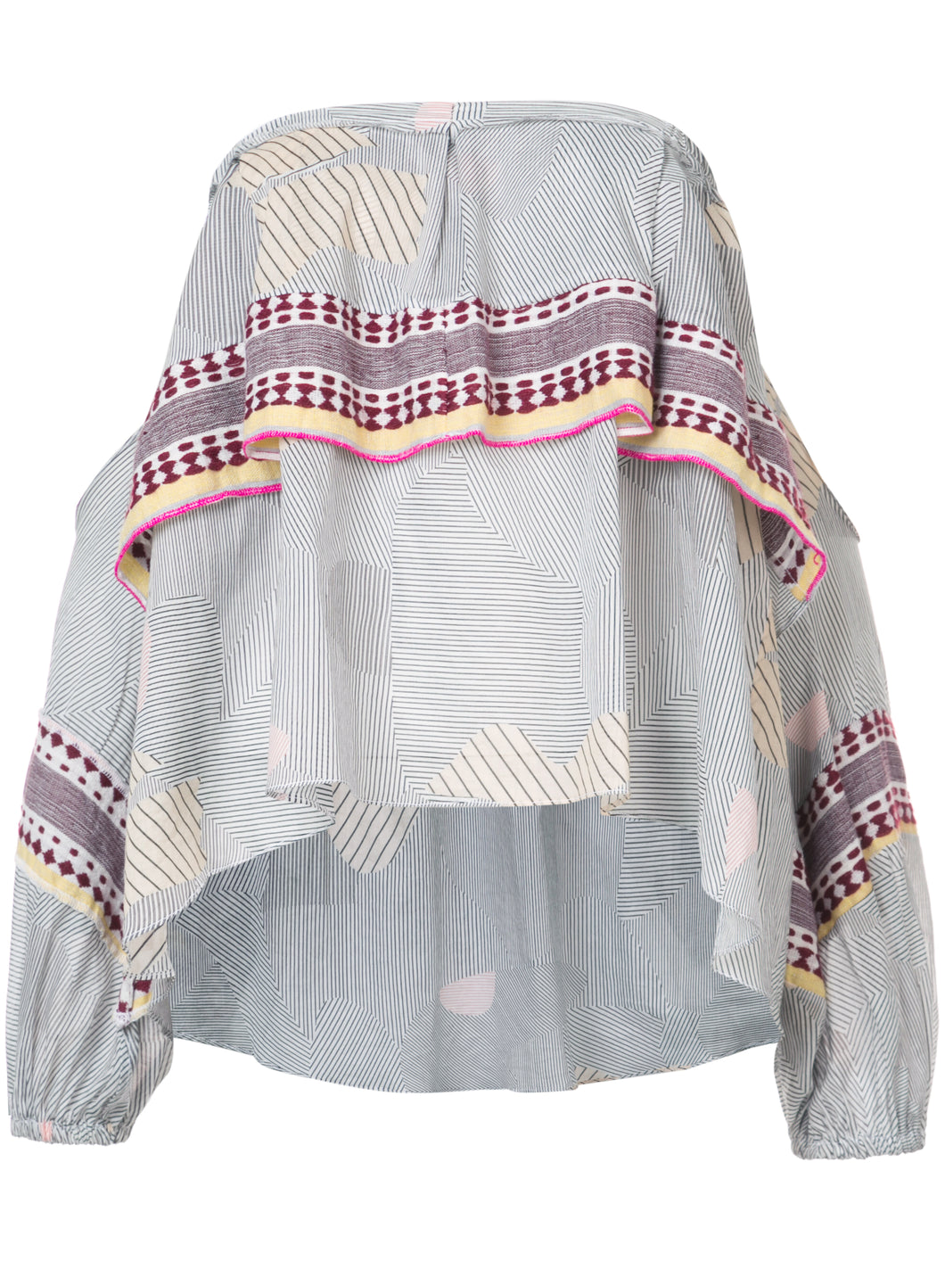Wefi Off Shoulder Layer Top