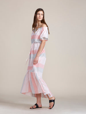 Dera Off Shoulder Long Dress