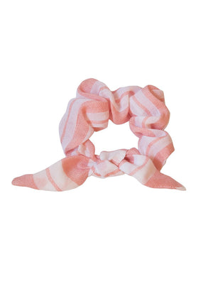 Doro Hair Scrunchie - Light Coral