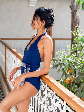 Sofia Deep V One Piece
