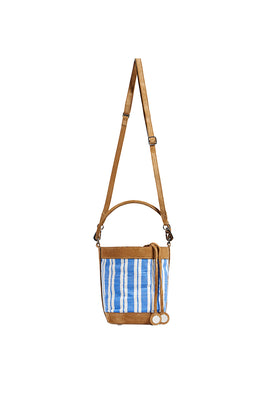 Liya Bucket Bag - Blue
