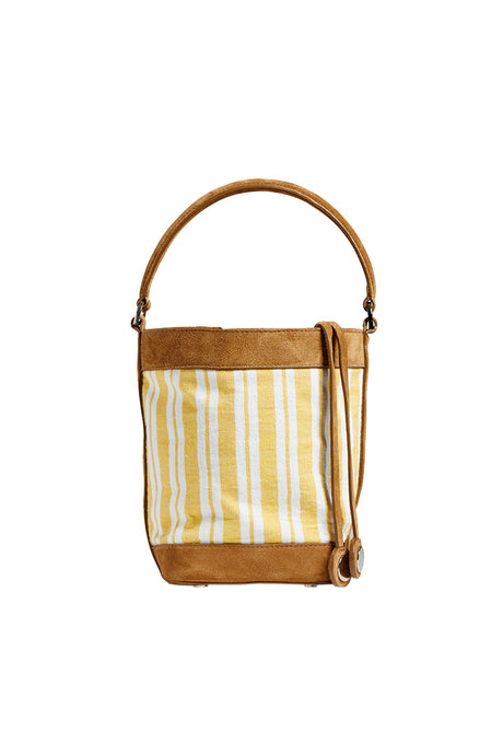 Liya Bucket Bag - Yellow
