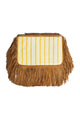 Liya Fringe Clutch Bag - Yellow