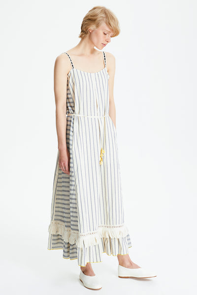 Ami Fringe Maxi Dress