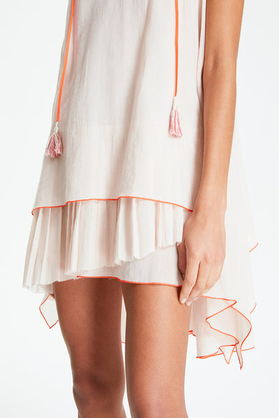 Zola Pleated Mini Dress