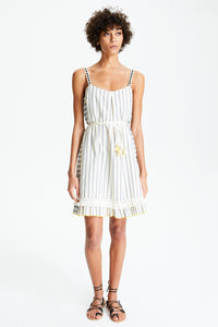 Ami Fringe Mini Dress