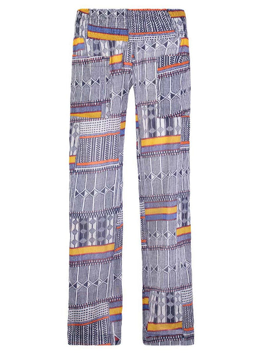 Kente Smocked Beach Pant
