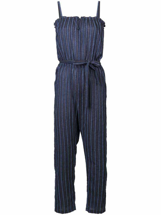 Abha Button Front Jumpsuit