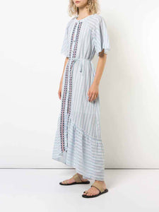 Nefasi Maxi Shirt Dress