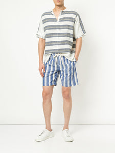 Abel Pickstitch Stripe Popover