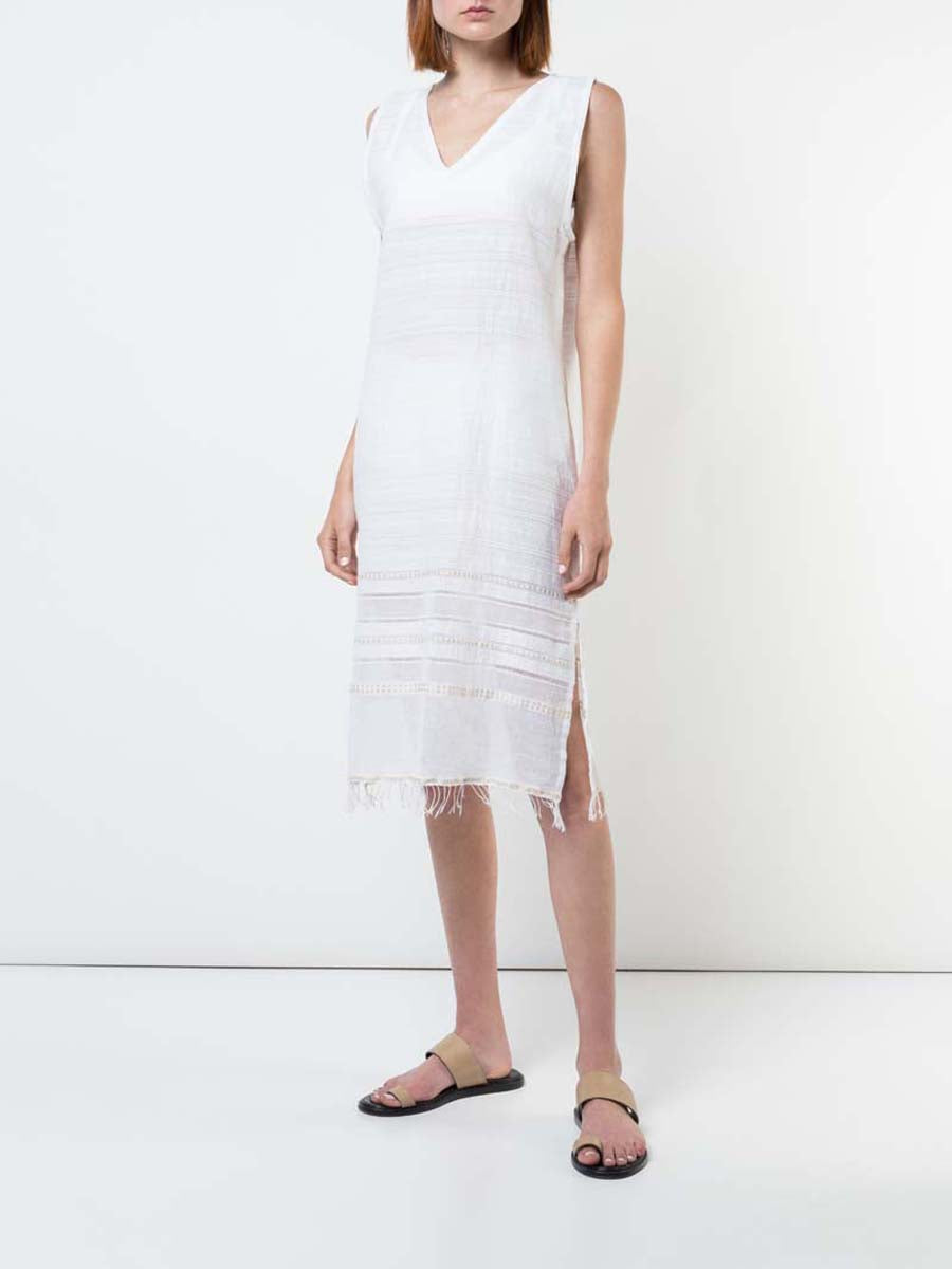 Kelali V Neck Dress