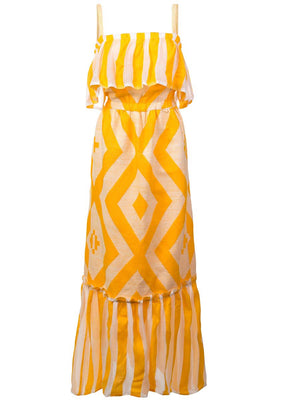 Biruhi Long Tier Dress