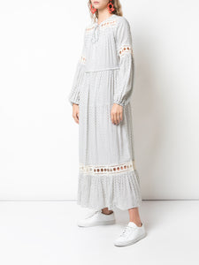 Wibi Peasant Dress