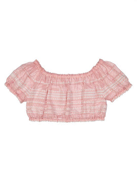 Lulu Cropped Blouse
