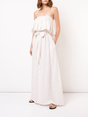 Aweke Strapless Maxi Dress