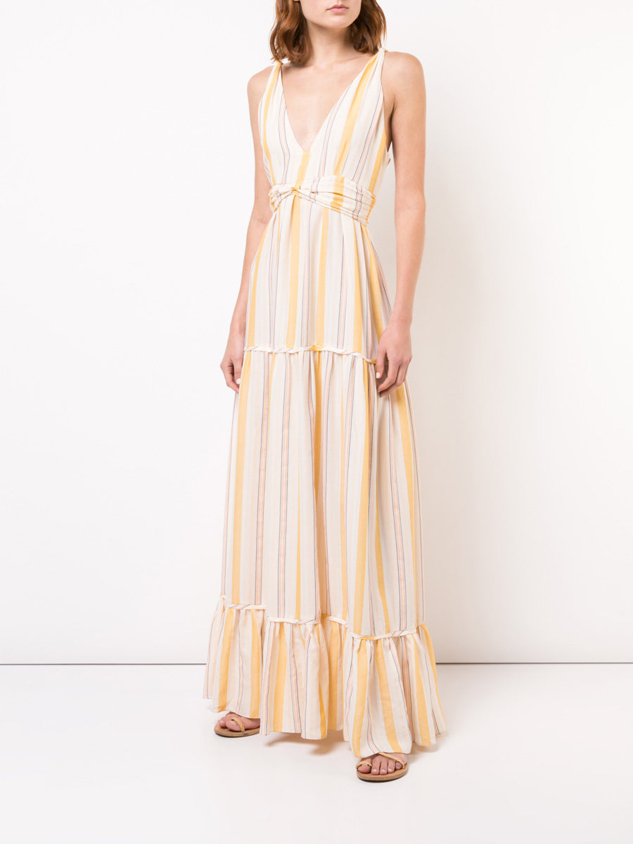 Zeritu Tiered Maxi Dress