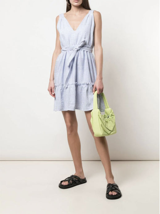 Semira Sky Ruffle Dress