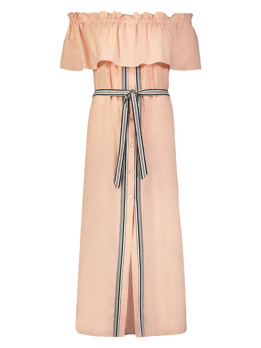 Koki Off Shoulder Maxi Dress