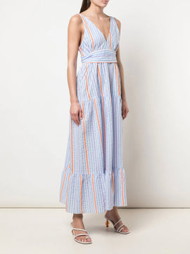 Bahiri Deep V Maxi Dress