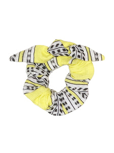 Amira Hair Scrunchie - Yellow
