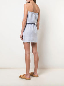 Semira Sky Strapless Sundress