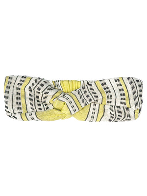 Amira Twist Turban - Yellow