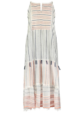 Zenha Long Halter Dress