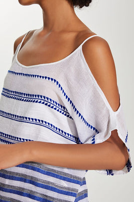 Lulu Open Shoulder Top