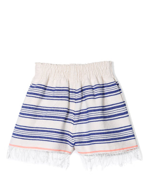 Hayat Girls Shorts - Blue