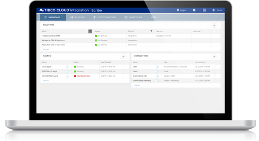 Small Mid Size Business Cloud Platform Integration - TIBCO Cloud Integration Basic