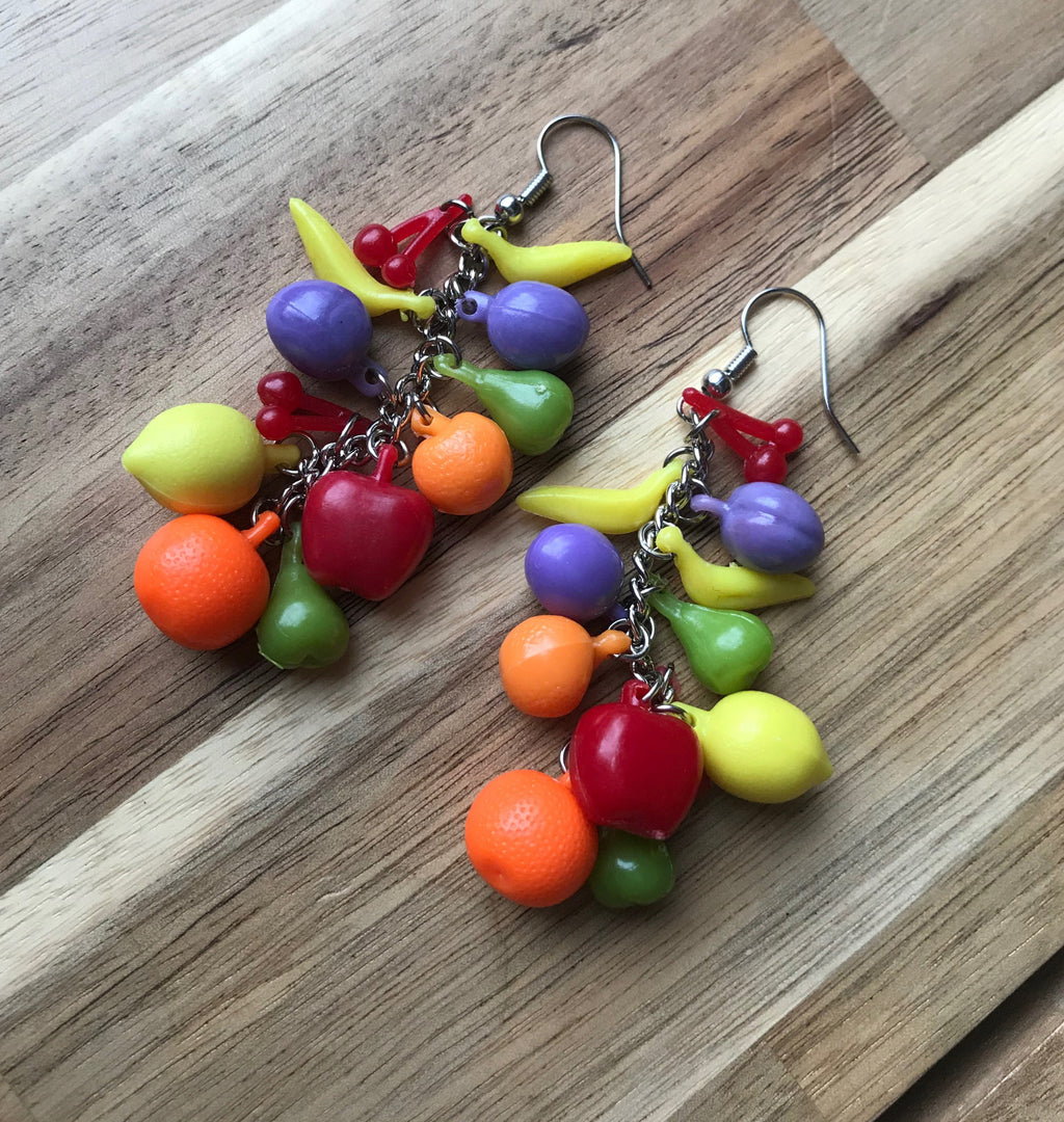 Fruity Pants earrings.