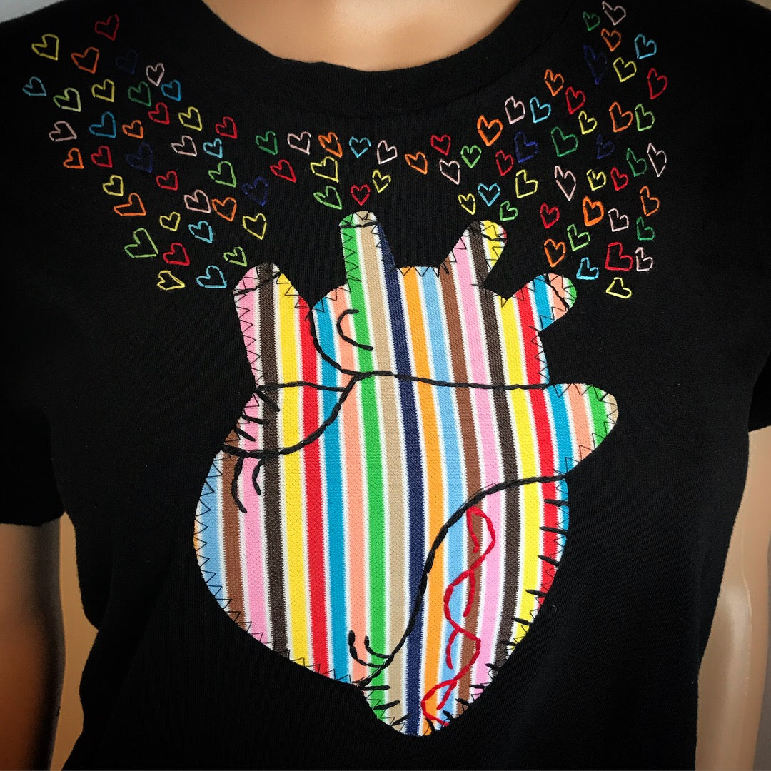 The Bleeding Heart *Pride Edition* unisex tee