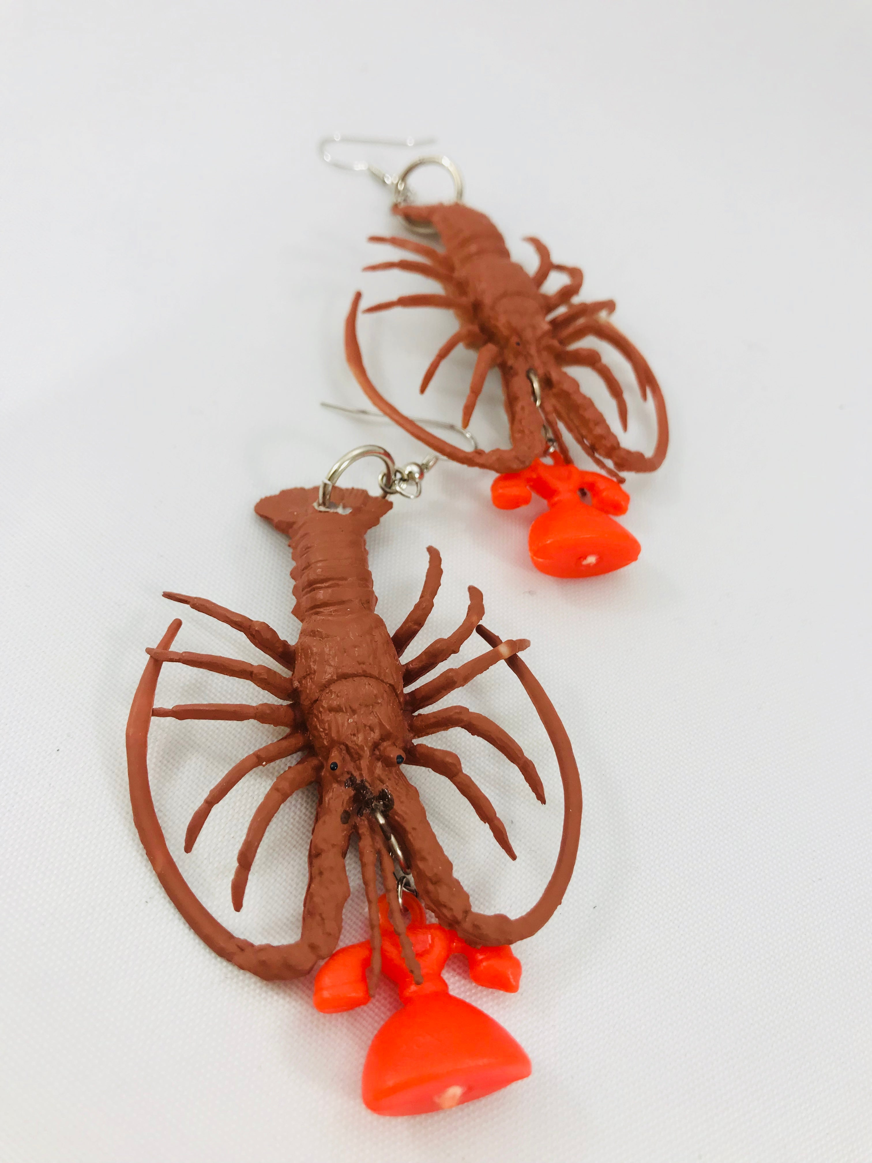 The Lobster always rings twice...earrings