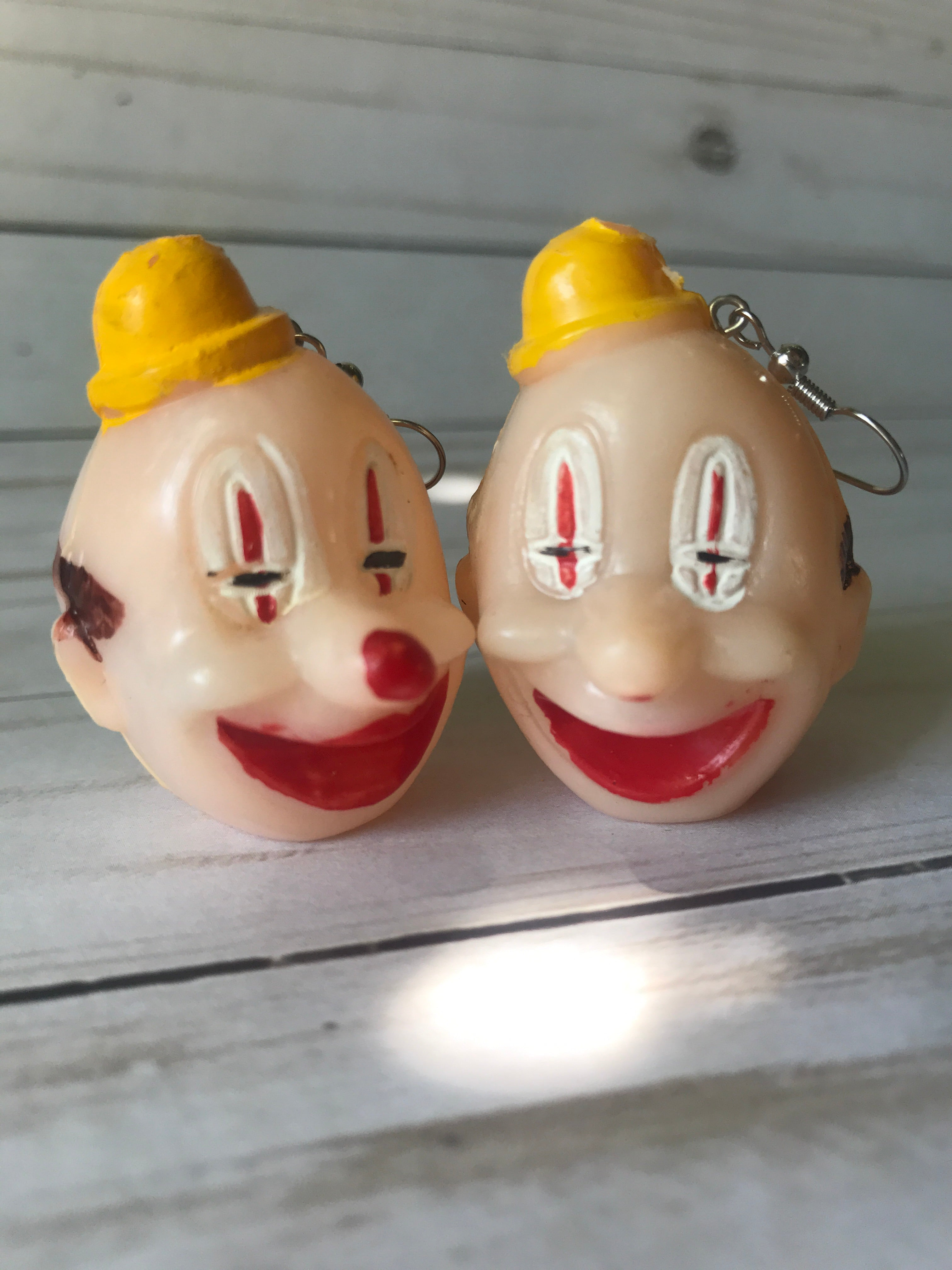 Giant Clown Heads