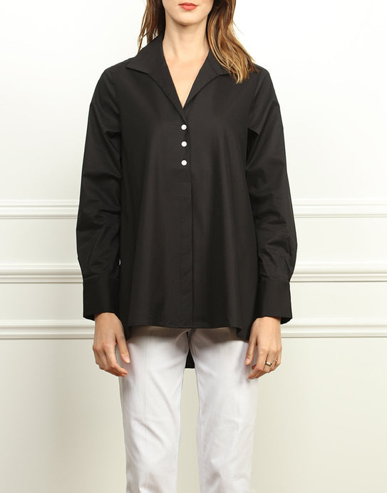 Betty Wing Collar A-line Tunic