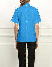 Load image into Gallery viewer, Aileen Short Sleeve Button Back Top
