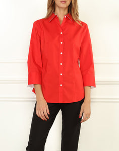 Diane Classic Fit 3/4 Sleeve Shirt
